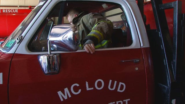 Drastic Rise In Fires Puts Strain On McLoud Fire Department