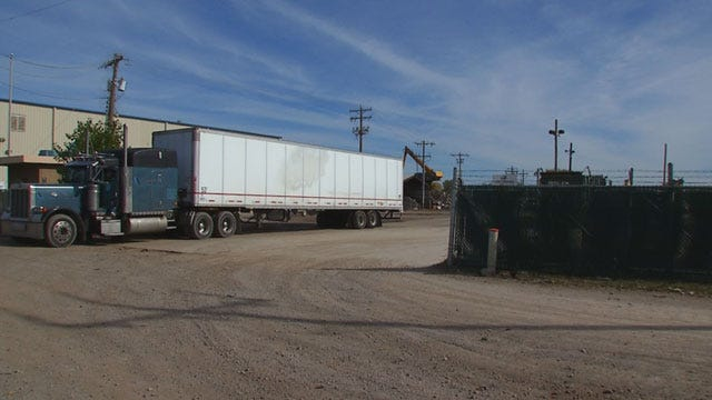 Industrial Recycling Center Blamed For Monthly Explosions In NE OKC