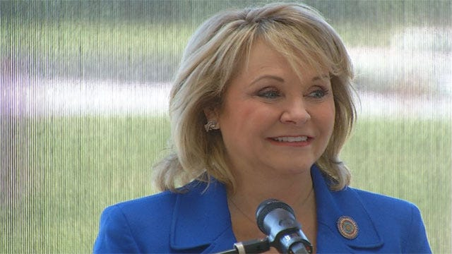 Gov. Mary Fallin Kicks Off Re-Election Campaign