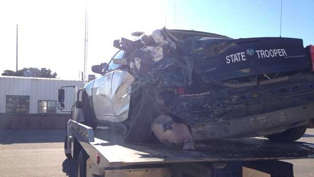 NB I-44 Near Chickasha Reopened After Trooper Involved Accident