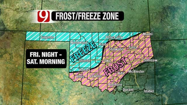 Oklahoma Bracing For Powerful Cold Front