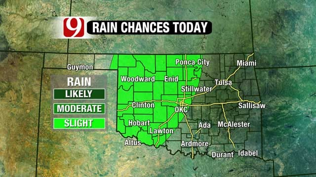 Active Weather Pattern Brings Chance Of Rain
