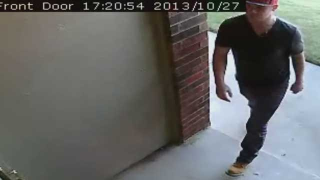 Homeowner's Security Camera Captures Burglary Suspect In SW OKC