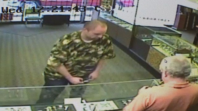 Camera Captures Thief Trying To Appraise Stolen Watches In Bethany