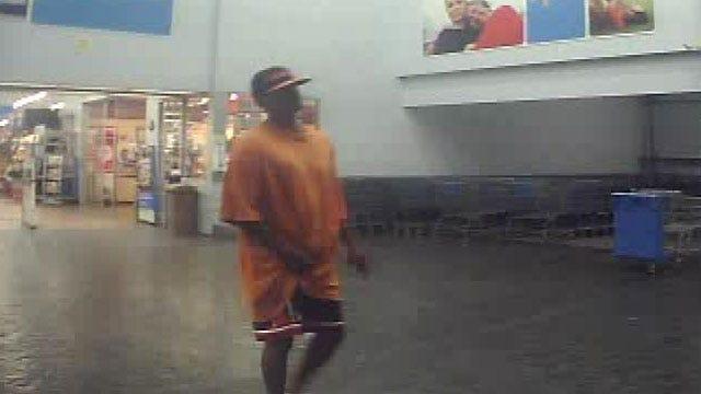Gunman Robs Money Center At OKC Walmart