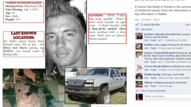 Oklahoma Family Still Searching For Son, Missing Three Months