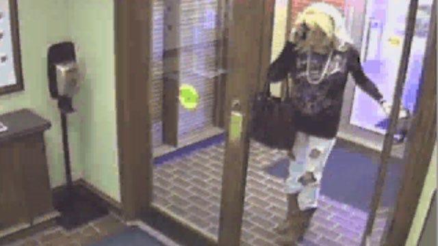 FBI: Man Dressed As Woman Robs Norman Bank