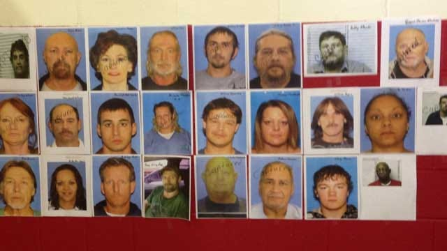 Stephens County Drug Sweep Nets Nearly 30 Arrests