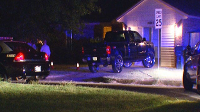 Police Investigate Deadly Shooting At MWC Home