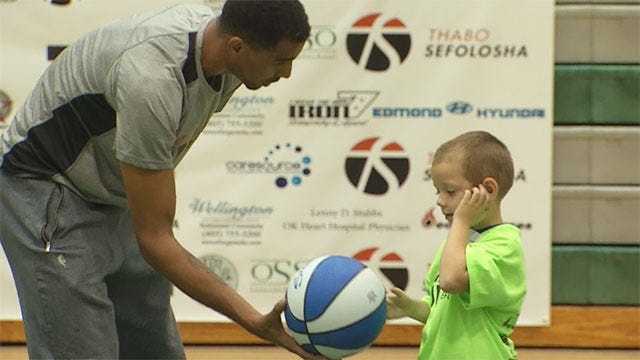 Thunder Player Donates To Families Who Lost Homes To Tornadoes