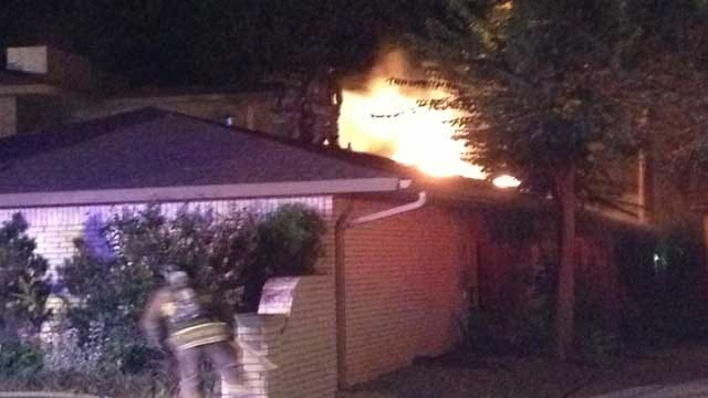 Northwest OKC Home Damaged In Early Morning Fire