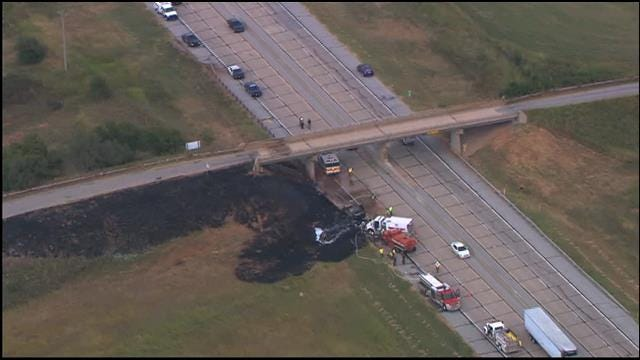 Southbound HE Bailey Turnpike Reopens After Fatal Crash