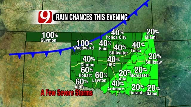 Rain, Storms Expected Across Oklahoma