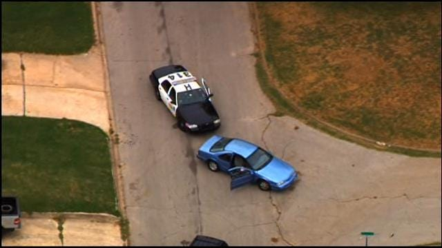 Police Involved In Chase In NW OKC