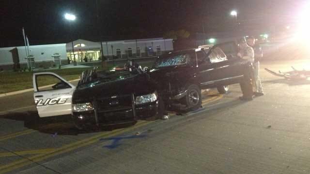 Suspected Drunken Driver Hits Officer's Patrol Car In Yukon