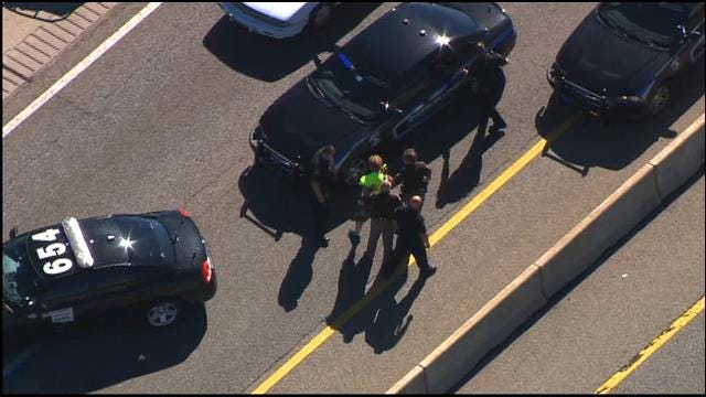 High-Speed Pursuit On Turner Turnpike Ends In Arrest