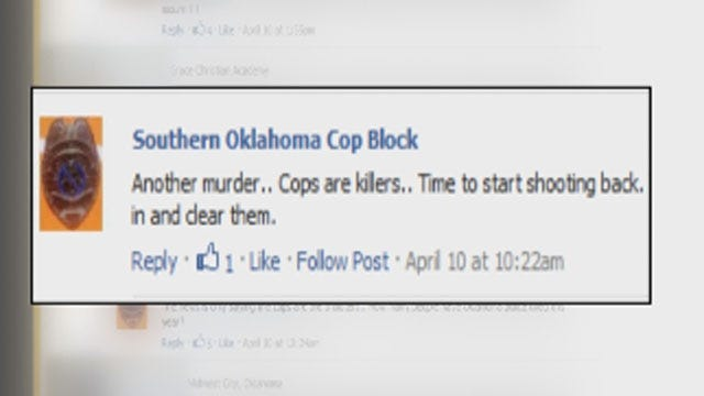 Threats On Facebook Cause Concerns For OK Law Enforcement