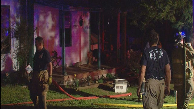 Overnight Fires Keep OKC Firefighters Busy