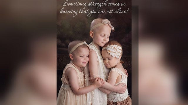 Photographer, Family Talk About Viral Photo Of OK Young Cancer Patients