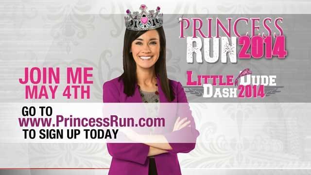 "Bobbie Miller Serves As ""Her Royal Highness"" At Princess Run, Little Dude Dash"