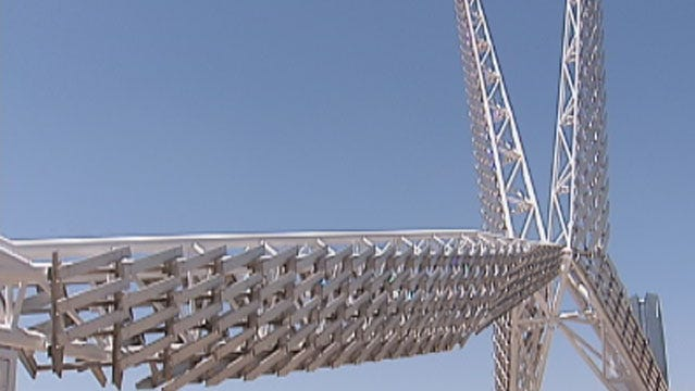 Oklahoma City's SkyDance Bridge To Receive Upgrade