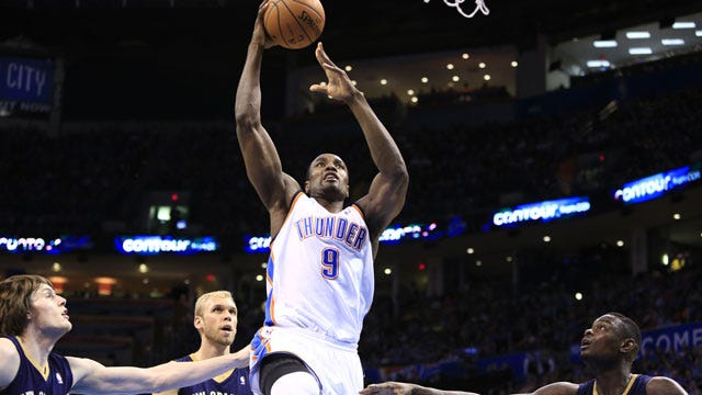 Thunder Storms Past Pelicans