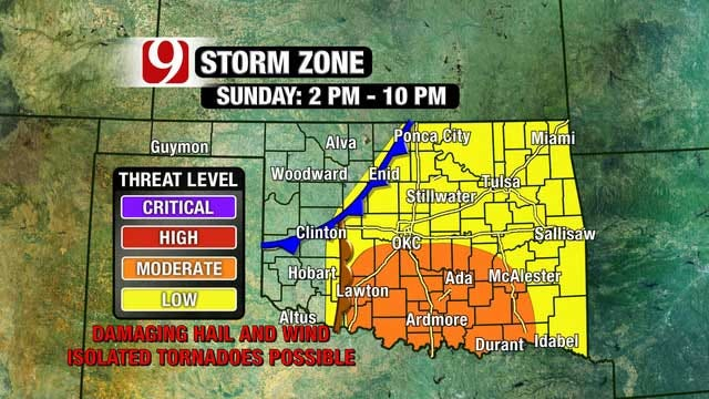 Wicked Weather, Snow Possible In Oklahoma This Weekend