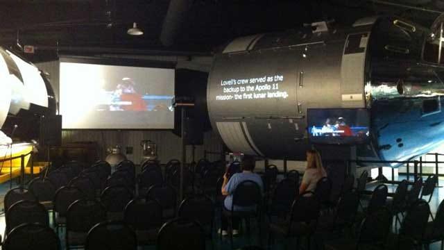 Stafford Museum Celebrates Yuri's Night, New Apollo Spacecraft Replica Exhibit