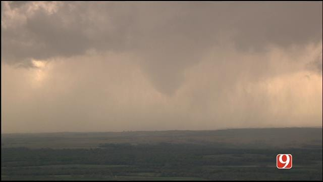 Tornadoes Touch Down In Southern Oklahoma