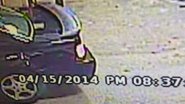 Authorities Seek Car Believed To Be Involved In Harrah Drive-By Shooting