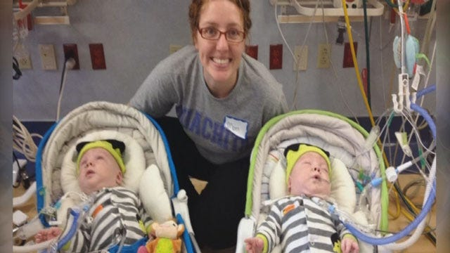 Guthrie Twins Released From Dallas Hospital