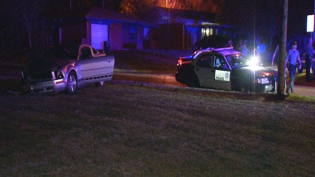 Man Leads OKC Police On High-Speed Chase With Child In Car
