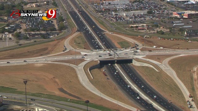 Norman Bridge At I-35 And Main Street Re-Opens