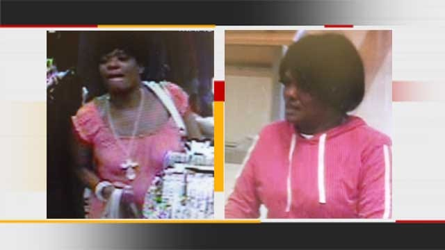 Police Seek Woman Accused Of Shoplifting From 2 OKC Stores