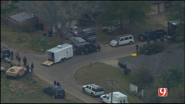 Police, FBI Operation Block NW OKC Streets