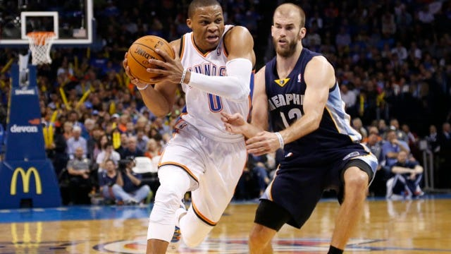 Thunder Learns Playoff Fate: It's A Grizzly Rematch