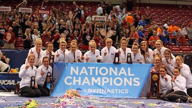OU Women's Gymnastics Captures First National Championship