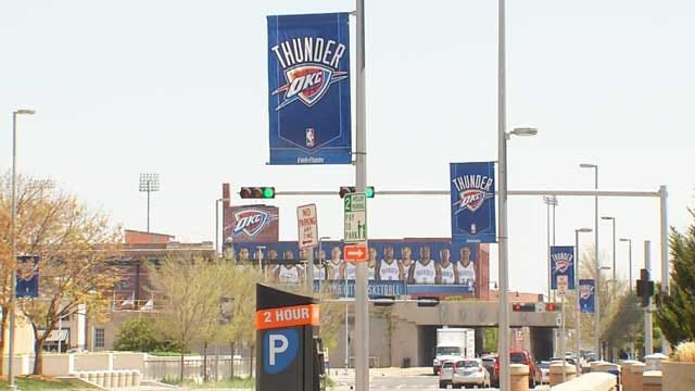 OKC Police To Increase Security For Thunder Playoff Game