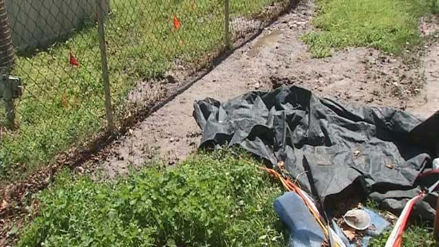 Raw Sewage Still Seeping Into Southwest OKC Yards