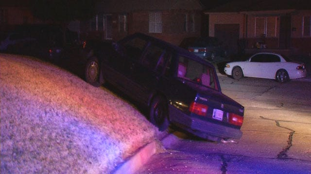 Suspect Flees After Police Chase In OKC Metro