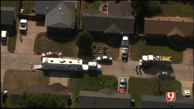 Crews Respond To Possible Hazmat Situation In MWC