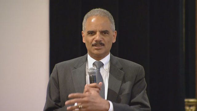 Hundreds Expected To Protest AG Holder's OKC Visit