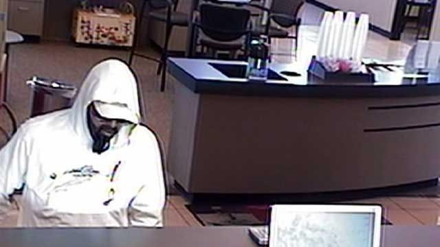 Police Seek Suspect In Edmond Bank Robbery