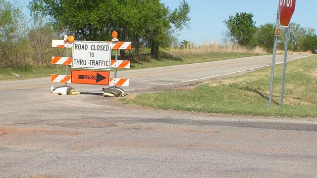 Frustration Grows Over Failure To Repair Oklahoma, Canadian County Line Road