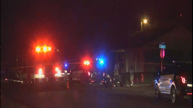 Person Rolling Tire In Road Struck By Vehicle In Moore