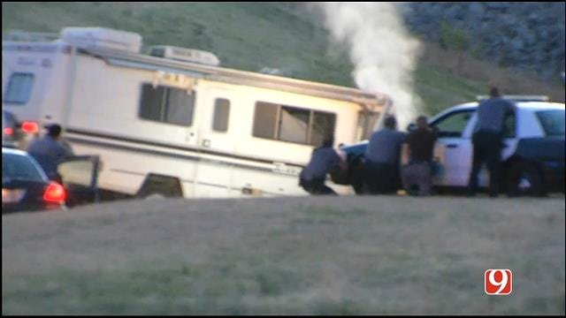 RV Crashes After Leading Police On Wild Chase In OKC