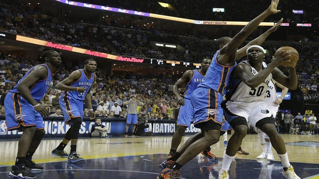 Thunder vs. Grizzlies: Three Things To Watch In Game 3