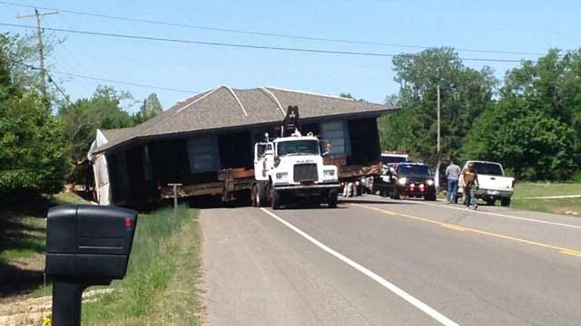 Vehicle Escorting 'Oversized Load' Rear-Ends OHP Trooper Near Shawnee