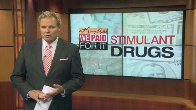 We Paid For It: Stimulant Drugs