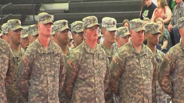 Oklahoma Soldiers Deploying To Afghanistan